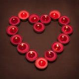 Luces del amor Fotos de archivo