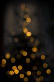 Luces del bokeh del árbol de navidad Imagen de archivo libre de regalías