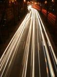 Luces del camino Fotografía de archivo libre de regalías