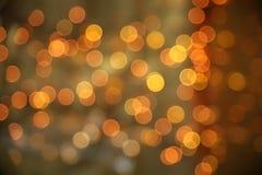 Luces del centelleo Fotos de archivo