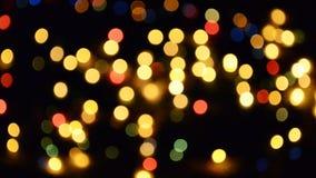 Luces del centelleo Fotografía de archivo libre de regalías
