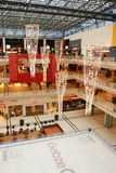 Luces del centro comercial Imagen de archivo