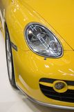 Luces del coche Fotos de archivo libres de regalías