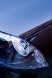 Luces del coche Foto de archivo libre de regalías