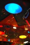 Luces del color del carrusel foto de archivo libre de regalías