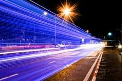 Luces del color del vehículo Foto de archivo libre de regalías