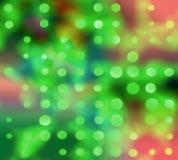 Luces del día de fiesta stock de ilustración