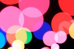 Luces del día de fiesta Imagen de archivo libre de regalías
