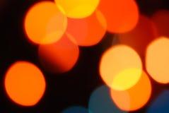 Luces del día de fiesta Imagen de archivo