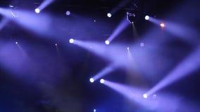 Luces del disco almacen de metraje de vídeo