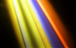 Luces del disco Fotografía de archivo