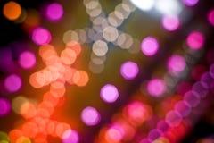 Luces del disco Fotos de archivo libres de regalías