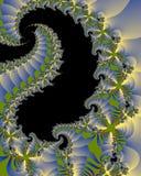 Luces del dragón stock de ilustración