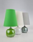 3 luces del escritorio Foto de archivo libre de regalías