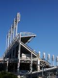 Luces del estadio Fotografía de archivo libre de regalías