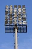 Luces del estadio Fotografía de archivo