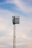 Luces del estadio Fotos de archivo
