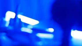 Luces del extracto de la ciencia ficción almacen de metraje de vídeo