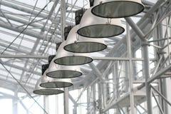 Luces del invernadero Imagen de archivo libre de regalías