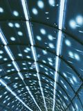 Luces del metro foto de archivo libre de regalías