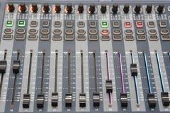 Luces del panel de control  Imagenes de archivo