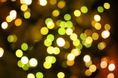 Luces del partido Foto de archivo libre de regalías