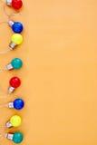 Luces del partido Imagen de archivo libre de regalías