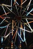 Luces del paseo del carnaval Imagenes de archivo