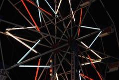 Luces del paseo del carnaval Imagen de archivo