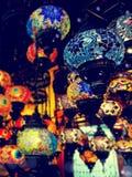 Luces en Bazar magnífico foto de archivo libre de regalías