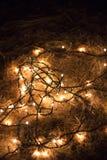 Luces en el suelo Obraz Royalty Free
