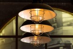 3 luces en fila Fotografía de archivo libre de regalías
