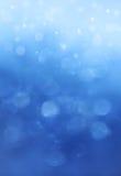 Luces en fondo azul. imágenes de archivo libres de regalías