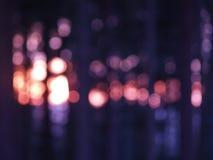 Luces en oscuridad Fotografía de archivo