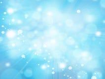 Luces en textura azul de background Fotografía de archivo libre de regalías
