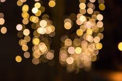 Luces enmascaradas Imagen de archivo libre de regalías