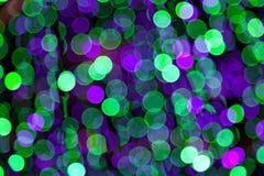 Luces enmascaradas coloridas del bokeh imagen de archivo libre de regalías