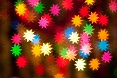 Luces enmascaradas de las estrellas Imagenes de archivo