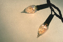 Luces festivas Foto de archivo libre de regalías