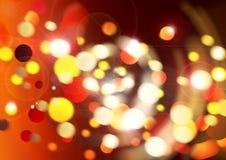 Luces festivas ilustración del vector