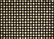 Luces LED brillantes Foto de archivo