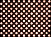 Luces LED rojas difundidas Fotografía de archivo