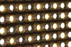 Luces llevadas Imágenes de archivo libres de regalías