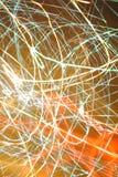 Luces locas de la noche Foto de archivo libre de regalías