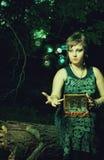 Luces mágicas Imágenes de archivo libres de regalías