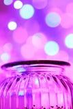 Luces mágicas del tarro y del bokeh de los glas Fotografía de archivo