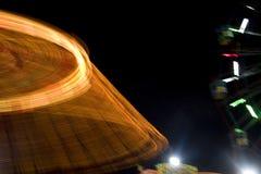 Luces móviles abstractas fotografía de archivo