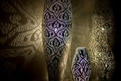 Luces marroquíes Foto de archivo libre de regalías