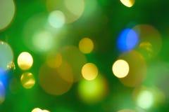 Luces mágicas Imagen de archivo libre de regalías