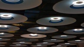Luces modernas del aeropuerto Fotografía de archivo